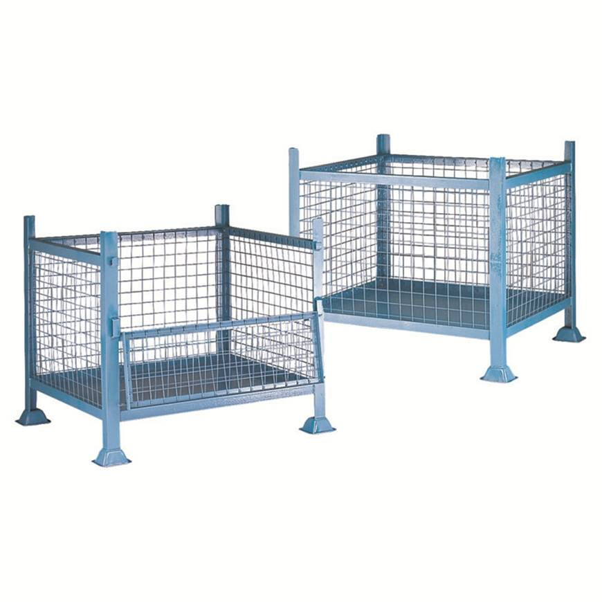 Metal Pallets - Mesh Pallets. Racking & Shelving, Trucks & Trolleys ...