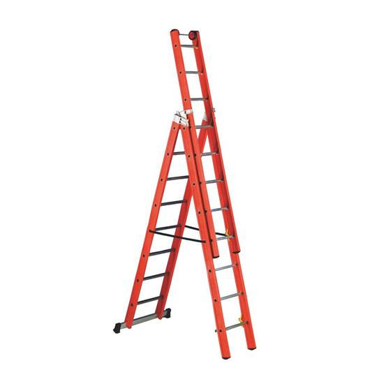 Picture of Premium Glass Fibre 3 Way Combination Ladder
