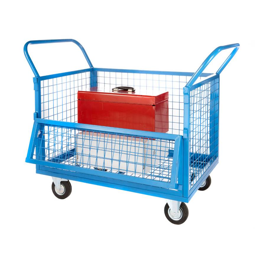 Wire Mesh Truck. Racking & Shelving, Trucks & Trolleys, Warehouse ...
