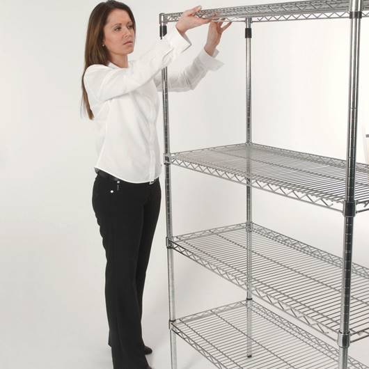 Picture of Eclipse Shelving - Chrome