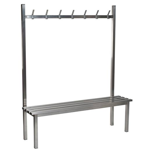 Picture of Stainless Steel Cloakroom Seating