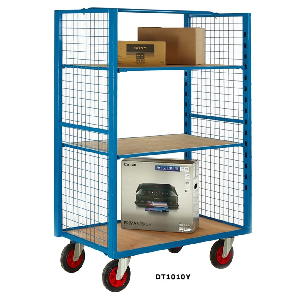 Premium Distribution Cages. Racking & Shelving, Trucks & Trolleys ...