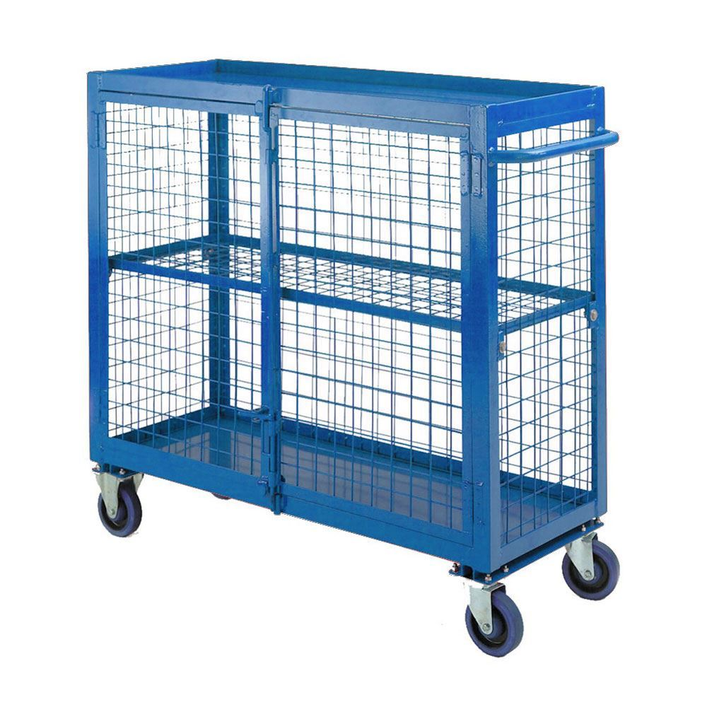 Security Distribution Trolley. Racking & Shelving, Trucks & Trolleys ...