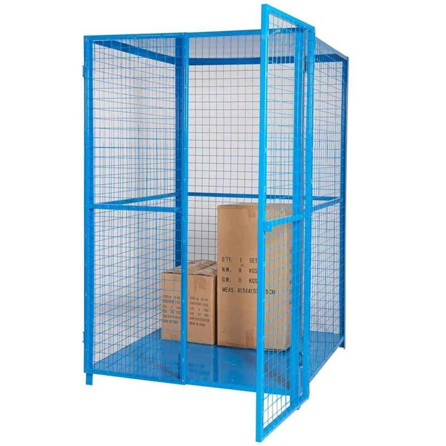 Security Cage with Roof & Base. Racking & Shelving, Trucks ...