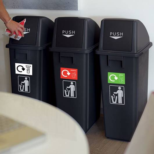 Picture of Recycling Bins - Set of 3