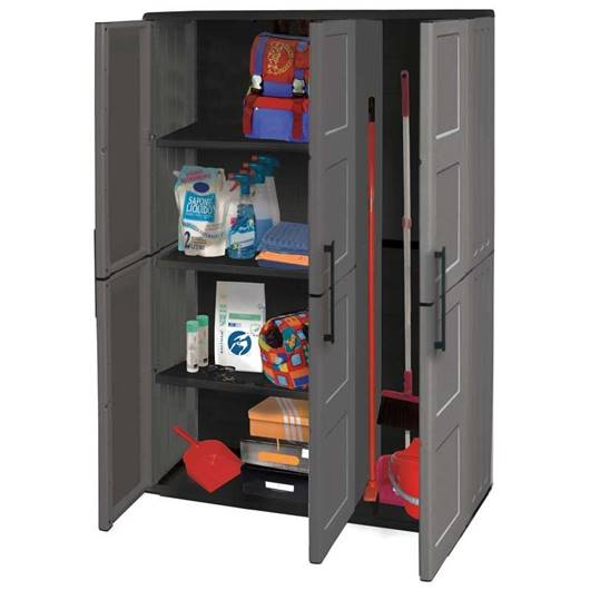 Picture of Industrial Large Triple Door Utility Cupboard