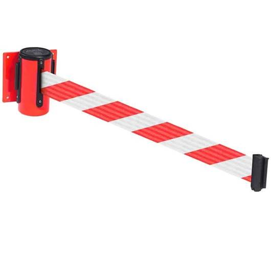 Picture of Wall Mounted Belt Barriers - Chevron belt