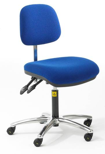 Picture of Static Dissipative Ergonomic Fabric Chair