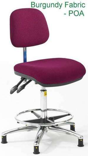 Picture of Static Dissipative Ergonomic Fabric High Chair